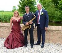 Bruiloft Feest-Enza Tanzarella & Henk Jantzen,Slot Moermond Renesse (Zeeland) 13 Juni 2015.JPG
