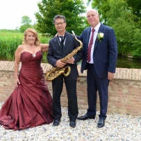 Bruiloft Feest-Enza Tanzarella & Henk Jantzen,Slot Moermond Renesse (Zeeland) 13 Juni 2015