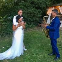 Bruiloftfeest, Jennifer en Arjan,aan de meule 10 augustus 2019