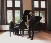 Duo Sax Piano,Nijmegen,1 oktober 2014