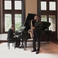 Duo Sax Piano,Nijmegen 1 oktober 2014