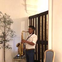 Palazzo Tilli di CASOLI (Italia) Sassofonista,4 augustus 2018