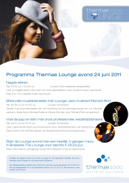 Poster Lounge 24062011